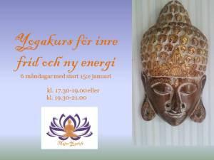 Yogakurs för inre frid och ny energi